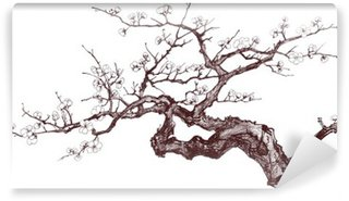 Cherry Tree Wall Mural - Vinyl