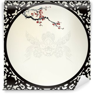 Vinyl Wall Mural Chinese background