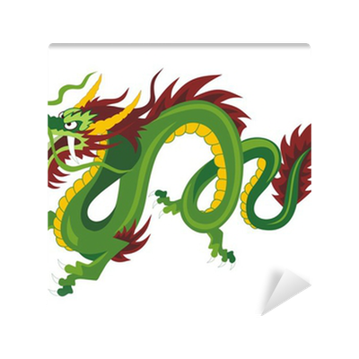Chinese dragon wall mural pixers we live to change for Chinese dragon mural