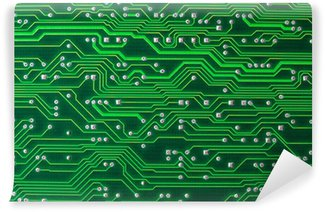 Vinyl Wall Mural Circuit Board