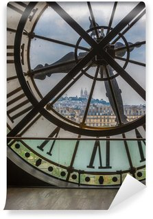 Wall Mural - Vinyl Clock in Orsay museum, Paris