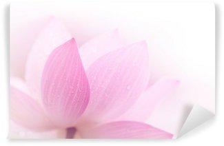 Closeup on lotus petal Wall Mural - Vinyl
