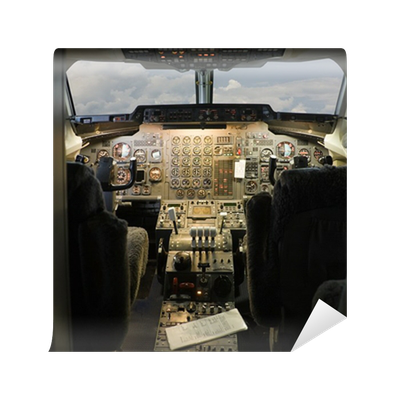 Cockpit wall mural pixers we live to change for Cockpit wall mural