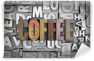 Wall Mural - Vinyl Coffee