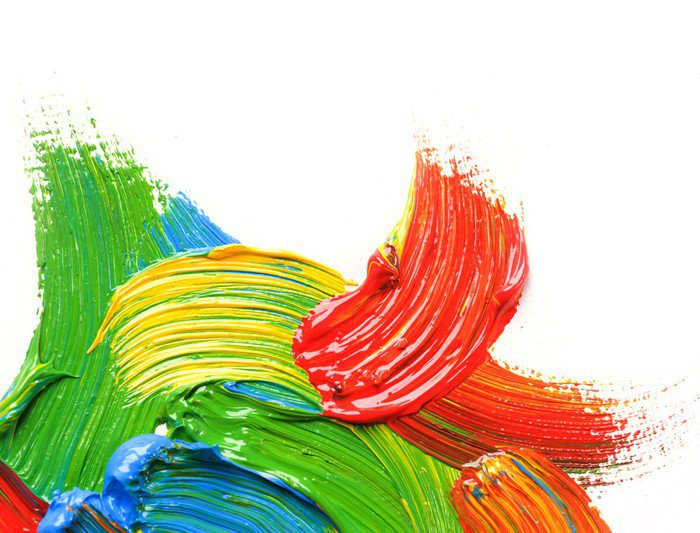 Wall Mural - Vinyl Color Paint - Art and Creation