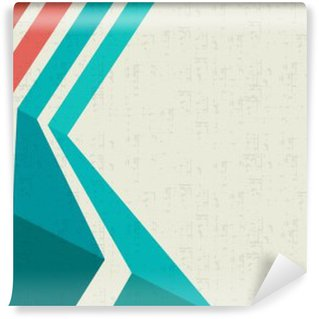 Wall Mural - Vinyl Colorful template for advertising brochure