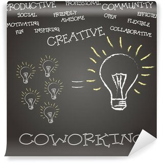 Wall Mural - Vinyl concepto coworking