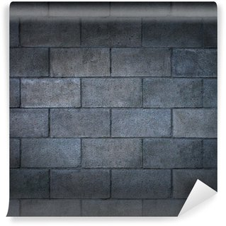 Wall Mural - Vinyl Concrete Block Wall