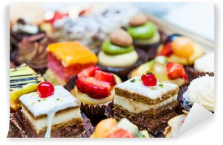 Confectionery tray close-up Wall Mural - Vinyl