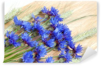 Cornflowers and cereals Wall Mural - Vinyl