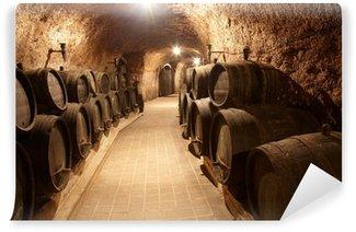 Wall Mural - Vinyl Corridor in winery