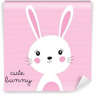 cute bunny vector illustration