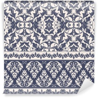 Wall Mural - Vinyl Damask Pattern