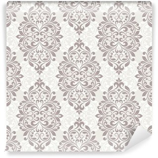 Wall Mural - Vinyl Damask seamless pattern for design.