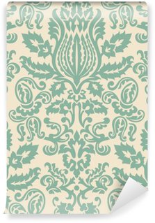 Wall Mural - Vinyl Damask Wallpaper Pattern