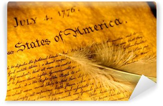 Wall Mural - Vinyl declaration of independence