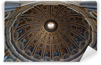 Wall Mural - Vinyl Dome of St. Peter's basilica