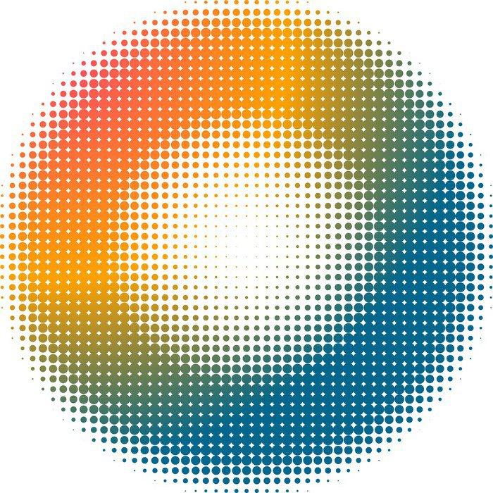 Wall Mural - Vinyl dot background - Themes