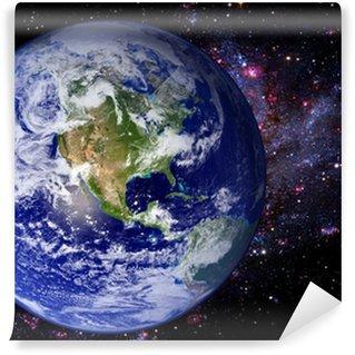Earth Space Universe Galaxy Wall Mural - Vinyl
