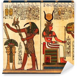 Hieroglyph wall murals pixers for Egyptian wall mural