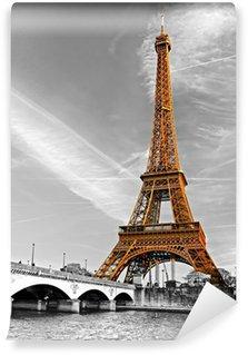 Wall Mural - Vinyl Eiffel tower, Paris.