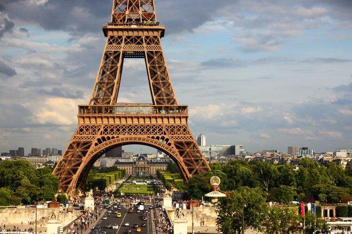 Wall Mural   Vinyl Eiffel Tower   Paris   Themes