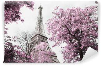 Wall Mural - Vinyl Eiffel tower