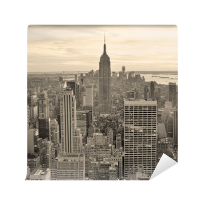 Empire state building wall mural pixers we live to change for Empire state building wall mural