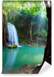 Erawan Waterfall, Kanchanaburi, Thailand Wall Mural - Vinyl