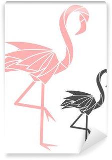 Wall Mural - Vinyl Flamingo