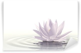 Wall Mural - Vinyl Floating waterlily