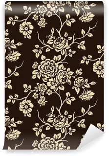 Vinyl Wall Mural Floral pattern seamless
