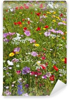 flower bed Wall Mural - Vinyl