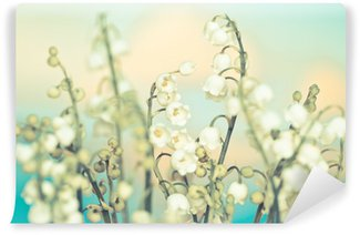Flower lily of the valley Wall Mural - Vinyl