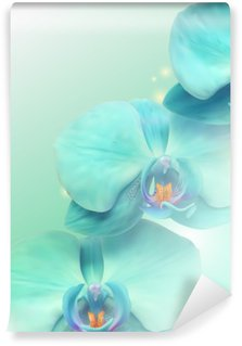 flower Orchid background Wall Mural - Vinyl