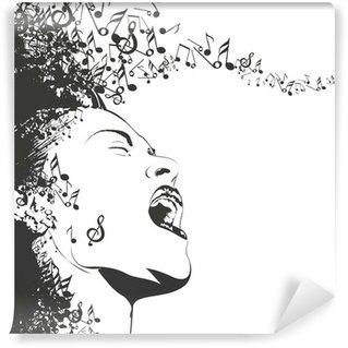 Wall Mural - Vinyl fond abstrait design