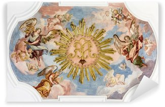 Vinyl Wall Mural fresco angels