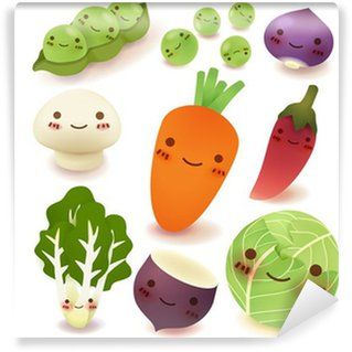 Wall Mural - Vinyl Fruit and vegetable Collection Vector File EPS10