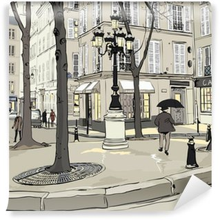 Furstemberg square in paris Wall Mural - Vinyl