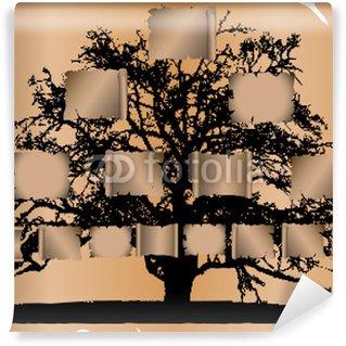 Wall Mural - Vinyl Genealogical tree