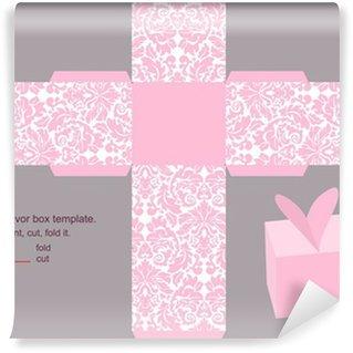 Wall Mural - Vinyl Gift box template