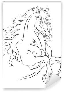 Graceful horse Wall Mural - Vinyl