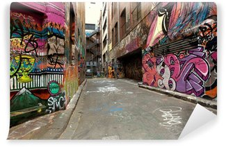 Wall Mural - Vinyl Graffiti Alley