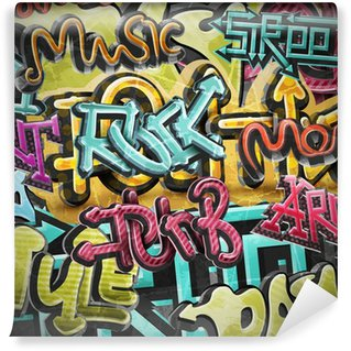 Wall Mural - Vinyl Graffiti grunge background