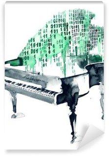 grand piano Wall Mural - Vinyl