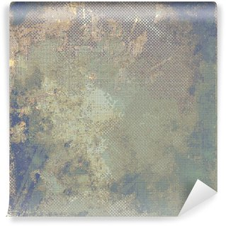 Wall Mural - Vinyl Grunge colorful background. With different color patterns: yellow (beige); brown; blue; gray