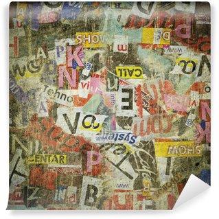 Vinyl Wall Mural .Grunge textured background