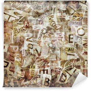 Vinyl Wall Mural Grunge textured background