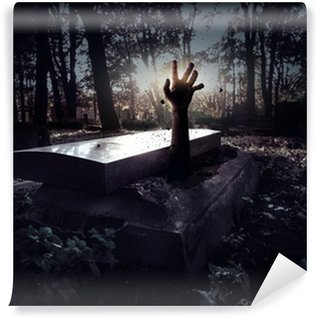 Wall Mural - Vinyl Hand rising out from the grave