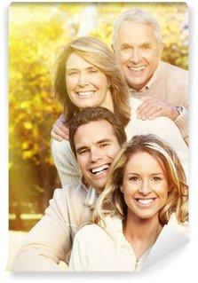 Happy family portrait.